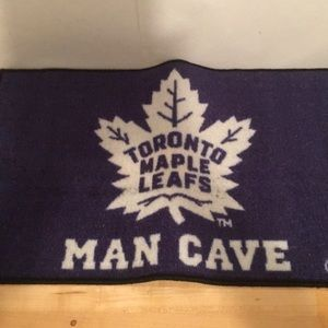 Toronto Maple Leafs Man Cave Doormat